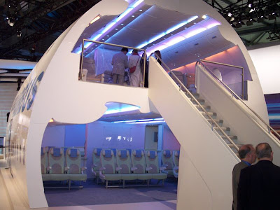 Airbus A380 Interior design