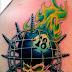 Free Tattoo Designs Fire on Arm