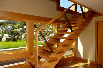 Good Wood Stairs Classic Decoration interior Design