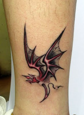 cool tribal dragon tattoo designs