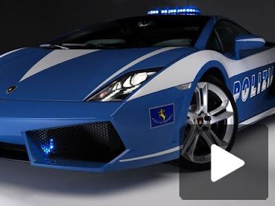 Lamborghini on Exotic Blue Lamborghini Car Concept For Police   Cars Review
