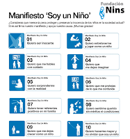 MANIFIESTO DE LA FUNDACIN NINS, SOY UN NIO