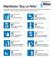 MANIFIESTO DE LA FUNDACIÓN NINS, SOY UN NIÑO