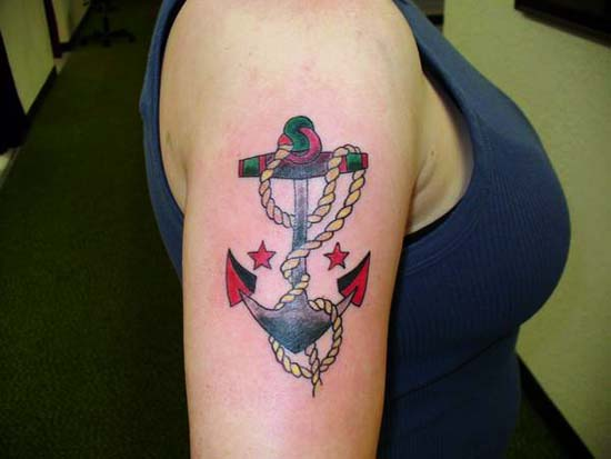 anchor tattoos. Anchor Tattoo - Tattoos For