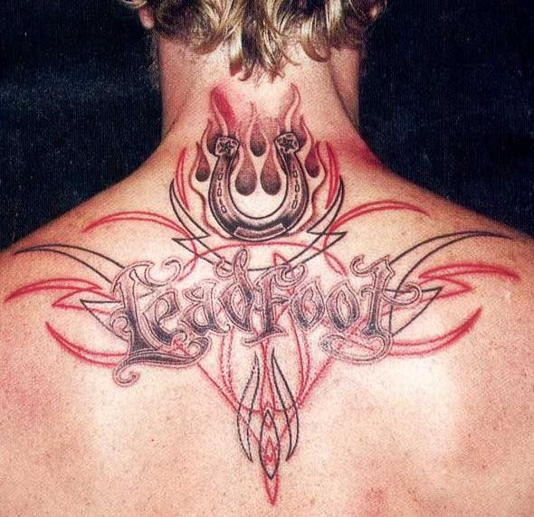 upper back tattoos