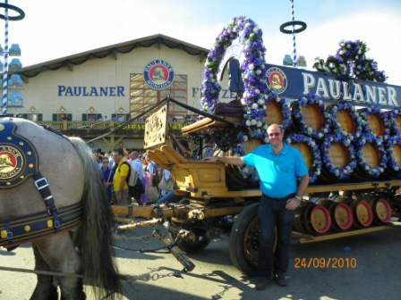 Carros de cerveza Paulaner