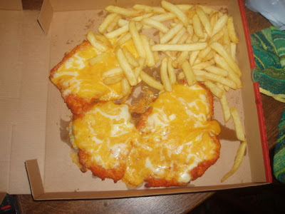 Image result for chicken parmo