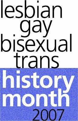 LGBT History Month logo - 2007