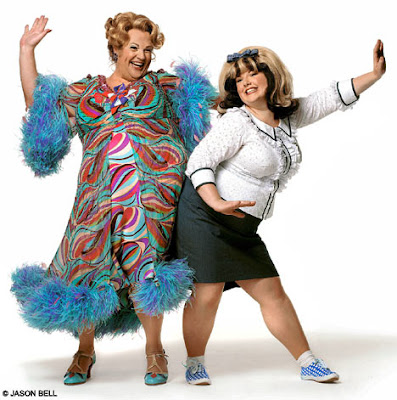Michael Ball and Leanne Jones in Hairspray