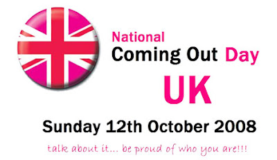 National Coming Out Day UK - 12th October
