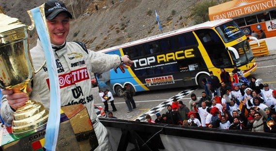 En San Juan, con la Top Race