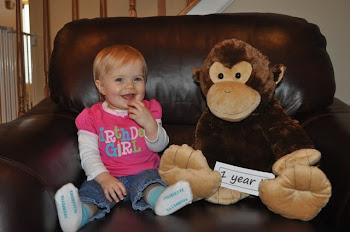 Jillian - 1 year old!