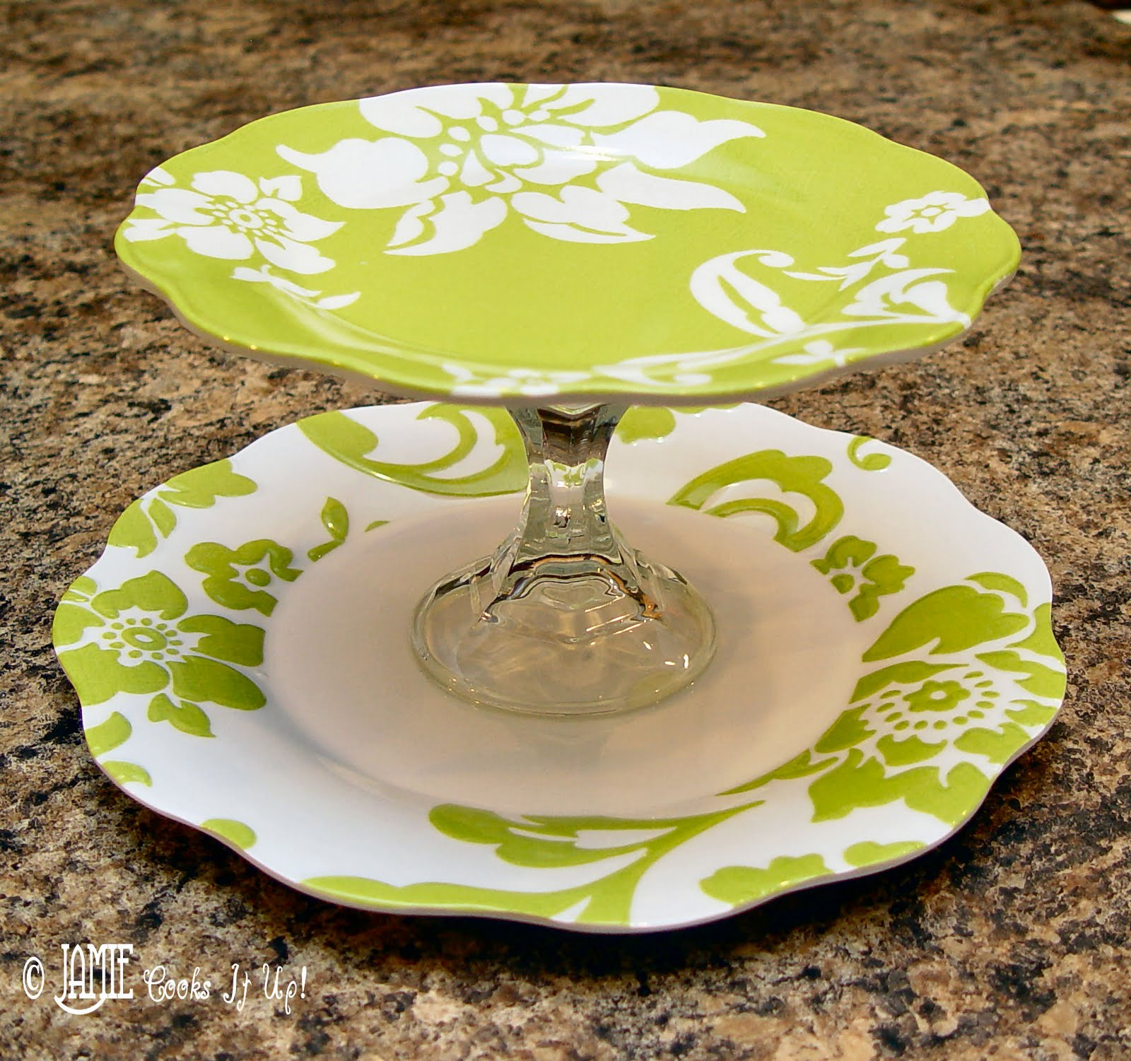 & How to make your own Tiered Serving Platter for ***CHEAP***