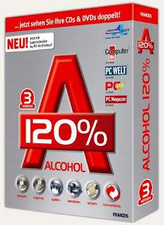 Alcohol 120% 1.9.8.7612 Full em Português