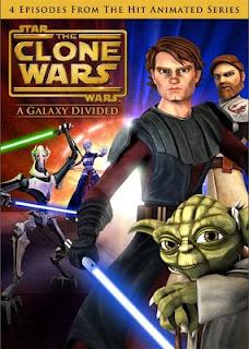 Star Wars The Clone Wars: Uma Galáxia Dividida [Dual Áudio] DVDRiP