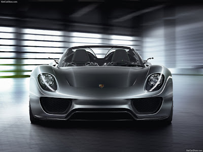 Porsche 918 Spyder Hybrid automobile