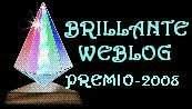 PREMIO BRILLANTE WEBBLOG