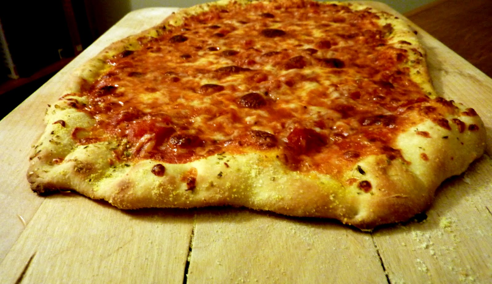 grit and grapes: New York-Style Pizza