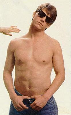 Cambios impresionantes en el Cine Tom-cruise-shirtless