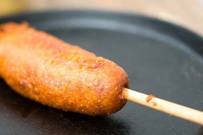 corn dog corny dog