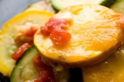 Tex-Mex squash casserole