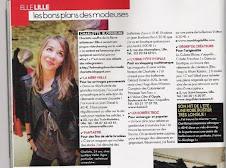ARTICLE DANS le ELLE magazine