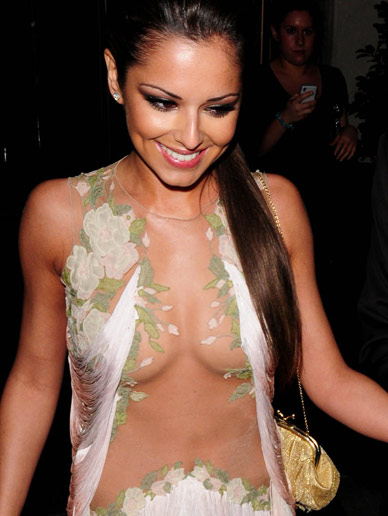 from Brock cheryl cole naked tits