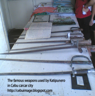 Cebu Island Hotels: The Katipunero Weapons