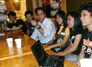 Mar Roxas in Cebu with Cebu Bloggers Society
