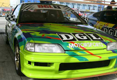 Car racing in SM Cebu City