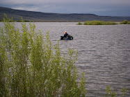 Eliason Landing a Fish