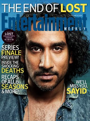 Entertainemnt Weekly Issue #1102 - May 14, 2010 - LOST Collector's Covers 10 of 10 - Naveen Andrews as Sayid Jarrah