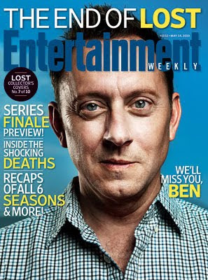 Entertainemnt Weekly Issue #1102 - May 14, 2010 - LOST Collector's Covers 7 of 10 - Michael Emerson as Benjamin Linus