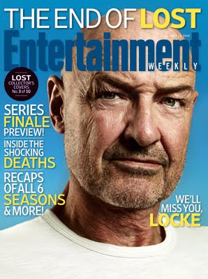 Entertainemnt Weekly Issue #1102 - May 14, 2010 - LOST Collector's Covers 3 of 10 - Terry O'Quinn as John Locke