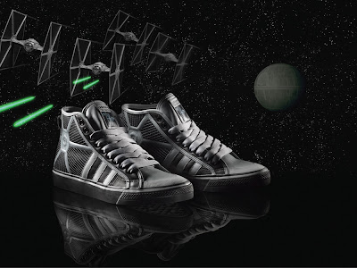 Star Wars x adidas Originals - TIE Fighter Sneakers