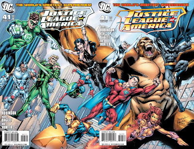 DC Comics- Justice League of America #41 Covers A & B Artwork by Mark Bagley