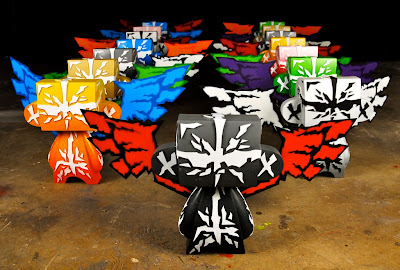 10 Inch Hand Painted Custom Guardian Mad'l Set by MAD