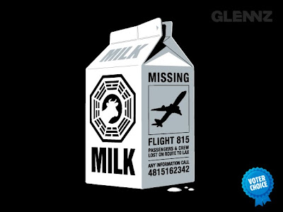 Glennz Tees - Lost Themed T-Shirt Missing by Glenn Jones