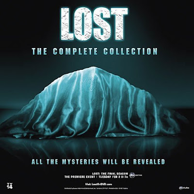 Lost The Complete Collection DVD and Blu-ray Box Set Cover Artwork