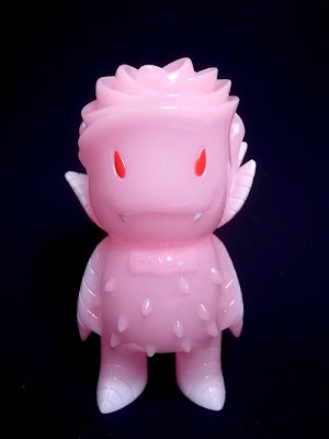 Pink Glow In The Dark Rose Vampire Vinyl Figure by Josh Herbolsheimer