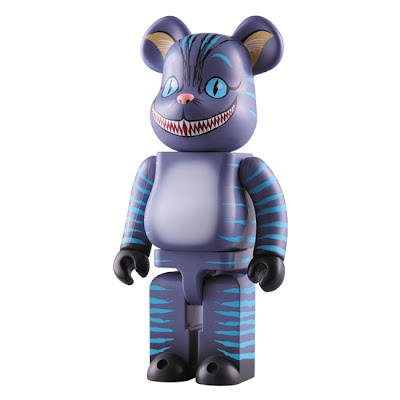 Medicom x Disney Alice In Wonderland Cheshire Cat 400% Bearbrick