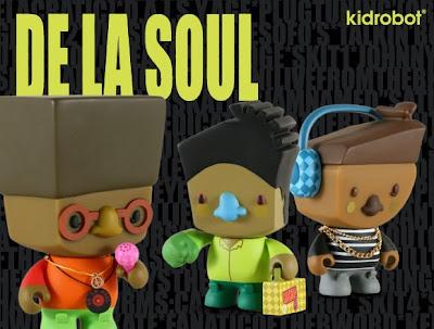 Kidrobot x De La Soul Vinyl Figure 3 Pack