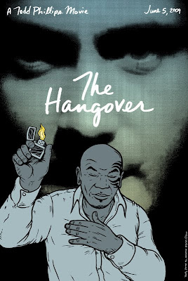 PNE - The Hangover Screen Print by Jermaine Rogers