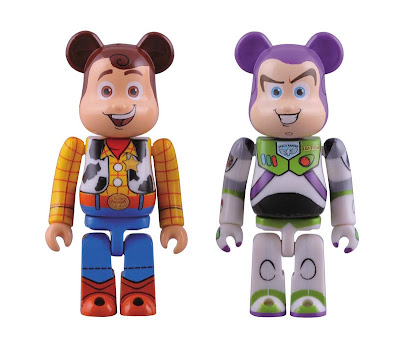Toy Story 3 100% Be@rbrick Set - Woody & Buzz Lightyear 100% Be@rbricks