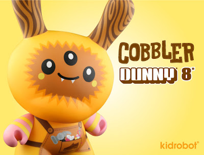 Kidrobot - Cobbler 8 Inch Dunny by TADO