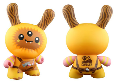 Kidrobot - Cobbler 8 Inch Dunny Front and Back by TADO