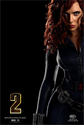 Iron Man 2 Black Widdow One Sheet Movie Poster - Scarlett Johansson as Black Widow
