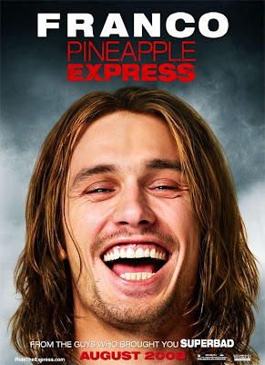 Pineapple Express Character Movie Posters - James Franco