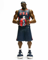 LeBron James USA Basketball Edition Upper Deck All-Star Vinyl Figure