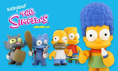 Kidrobot x The Simpsons Vinyl Mini Figure Set